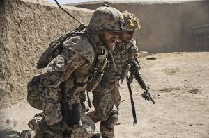 Savaş 3 Askeri Kanvas Tablo