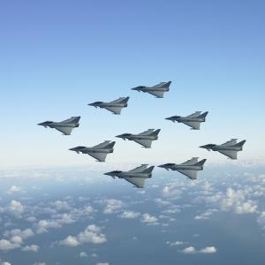 Savaş Jetleri Askeri Kanvas Tablo 2