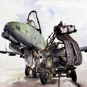 Savas Jetleri Bombardiman Araclar 63 Yagli Boya Sanat Kanvas Tablo