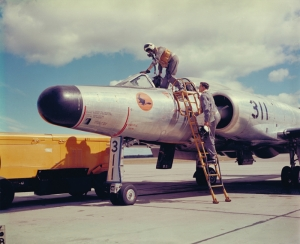 Savaş Pilotu Retro Popüler Kültür Kanvas Tablo