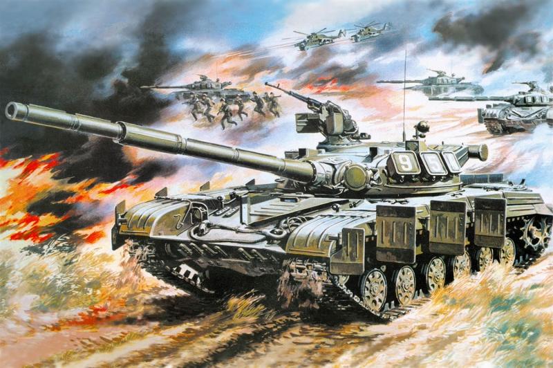 Savas Ucaklari 68 Yagli Boya Sanat Kanvas Tablo