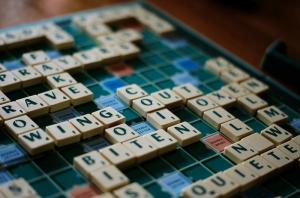 Scrabble Kelime Oyunu Kanvas Tablo