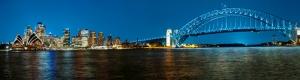 Sdney Panaromik Dünyaca Ünlü Şehirler Kanvas Tablo