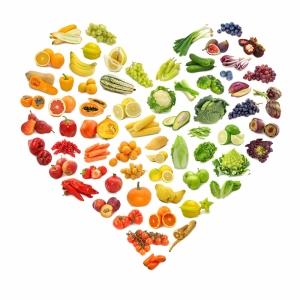 Sebze, Meyve ve Sağlık Lezzetler Kanvas Tablo