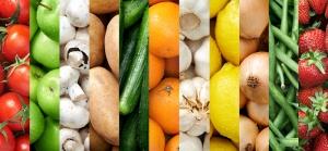 Sebzeler ve Meyveler Lezzetler Kanvas Tablo