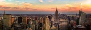 Şehir Işıkları-16 Şehir Manzaraları Kanvas Tablo