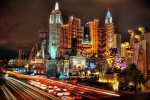 Şehir Işıkları-4 Şehir Manzaraları Kanvas Tablo