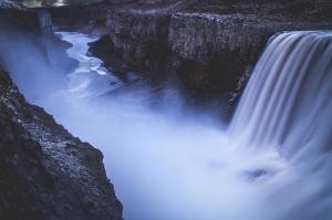 Şelale 2 Doğa Manzaraları Kanvas Tablo