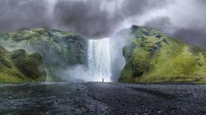 Şelale ve Doğa Manzaraları Kanvas Tablo