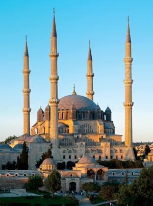 Selimiye Camii Dünyaca Ünlü Şehirler Kanvas Tablo