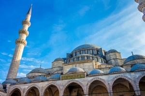 Selimiye Camii ve Gökyüzü 2 Dini & İnanç Kanvas Tablo