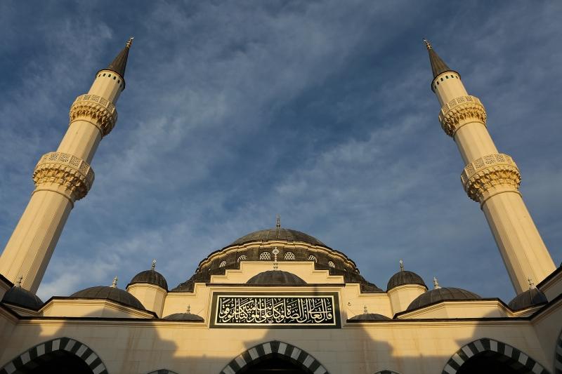 Selimiye Camii ve Gökyüzü Dini & İnanç Kanvas Tablo