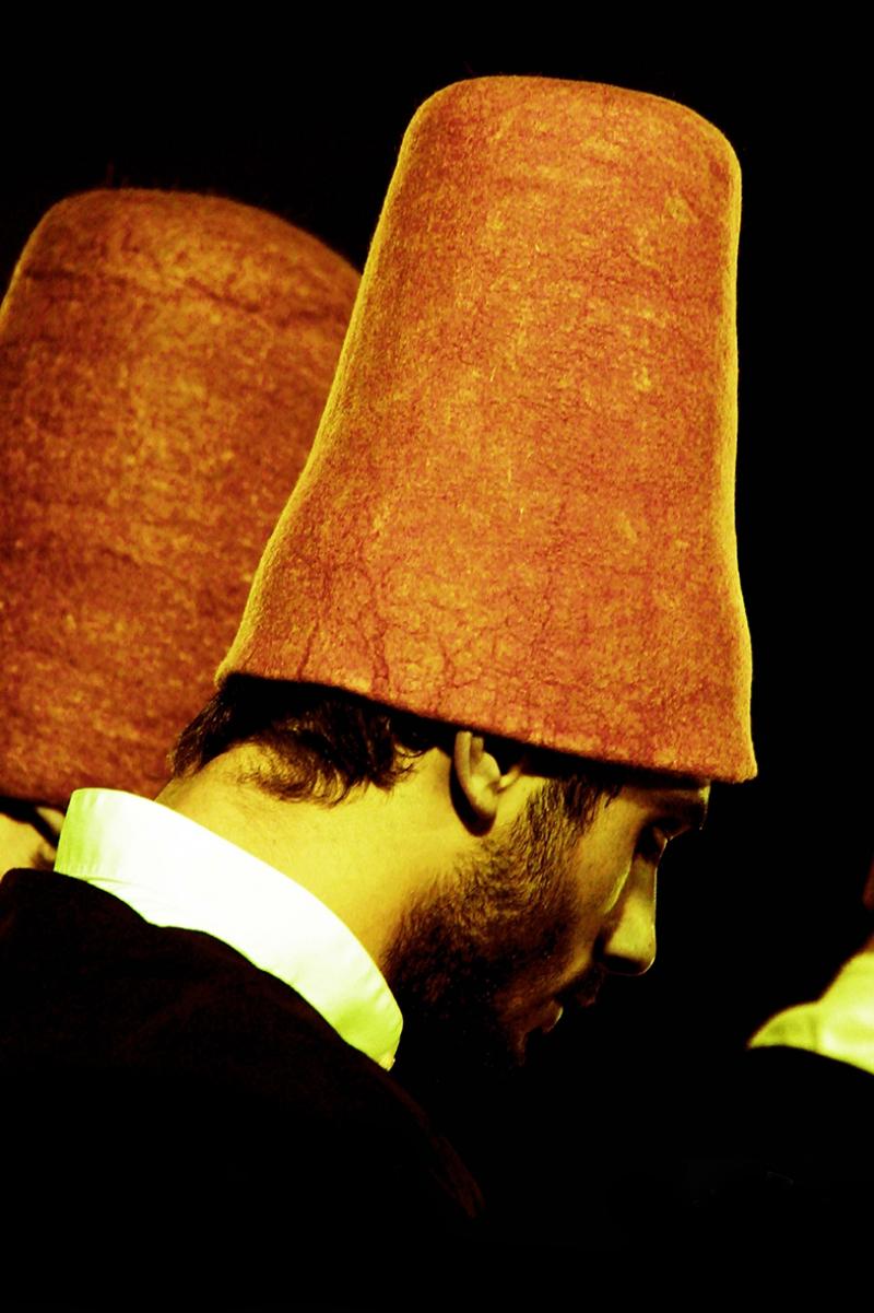 Semazen Detay Dini & İnanç Kanvas Tablo