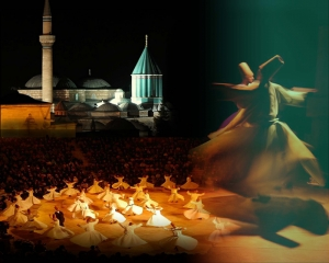 Semazenler Dini & İnanç Kanvas Tablo