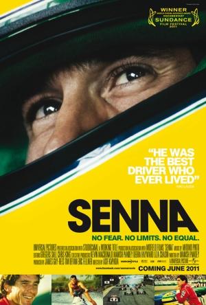 Senna Formula 1 Afiş Kanvas Tablo