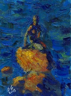 Sergey Gusev Yağlı Boya Sanat Kanvas Tablo