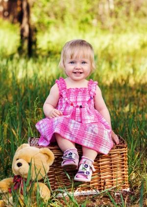 Sevimli Mini Sarışın Bebek & Çocuk Dünyası Kanvas Tablo