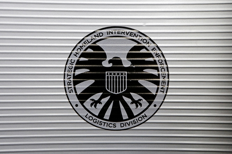 Shield Logo Süper Kahramanlar Kanvas Tablo