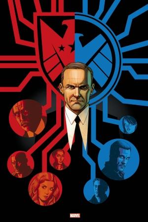 Shield ve Avengers Marvel Süper Kahramanlar Kanvas Tablo