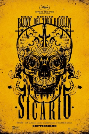 Sicario Film Afişi Sinema Kanvas Tablo