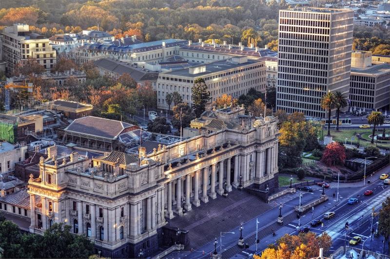 Sidney Avustralya Şehir Manzarası Yeni Binalar Dünyaca Ünlü Şehirler Kanvas Tablo