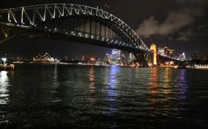 Sidney Şehir Manzarası Dünyaca Ünlü Şehirler Kanvas Tablo