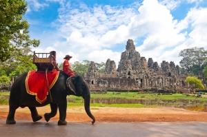 Siem Reap Dünyaca Ünlü Şehirler Kanvas Tablo