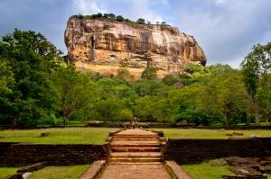 Sigiriya Sri Lanka Dambulla Unesco Dünya Kültür Mirasları Kanvas Tablo