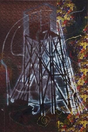 Sigmar Polke Dikkat Yagli Boya Klasik Sanat Kanvas Tablo