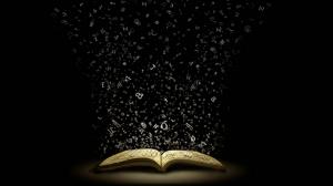 Sihirli Kitap Fotoğraf Kanvas Tablo