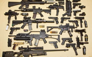 Silahlar Askeri Kanvas Tablo