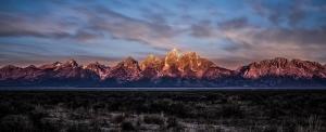 Sıra Dağlar Doğa Manzaraları Kanvas Tablo
