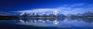 Sıra Dağlar Panaromik Kanvas Tablo