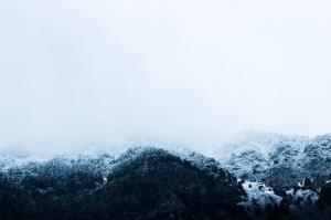 Sis Doğa Manzaraları Kanvas Tablo