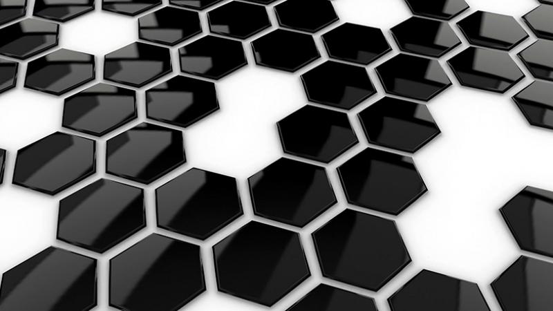 Siyah Beyaz 2 Abstract Dijital ve Fantastik Kanvas Tablo