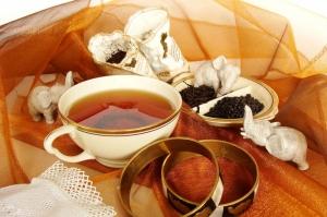 Siyah Çay Mizansen 1 Lezzetler Kanvas Tablo