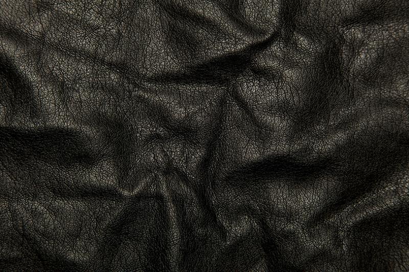 Siyah Deri Abstract Dijital ve Fantastik Kanvas Tablo