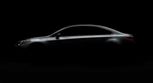 Siyahlar İçinde Gri Otomobil Kanvas Tablo