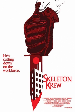 Skeleton Crew Film Afişi Sinema Kanvas Tablo