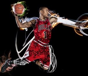 Smaç Basketbol Spor Kanvas Tablo