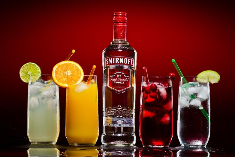 Smirnoff Votka 2 Fotoğraf Kanvas Tablo