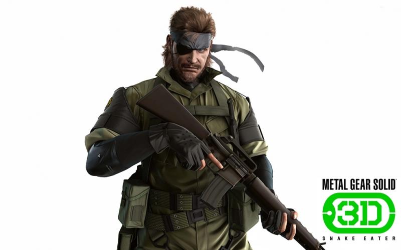 Solid Snake Popüler Kültür Kanvas Tablo