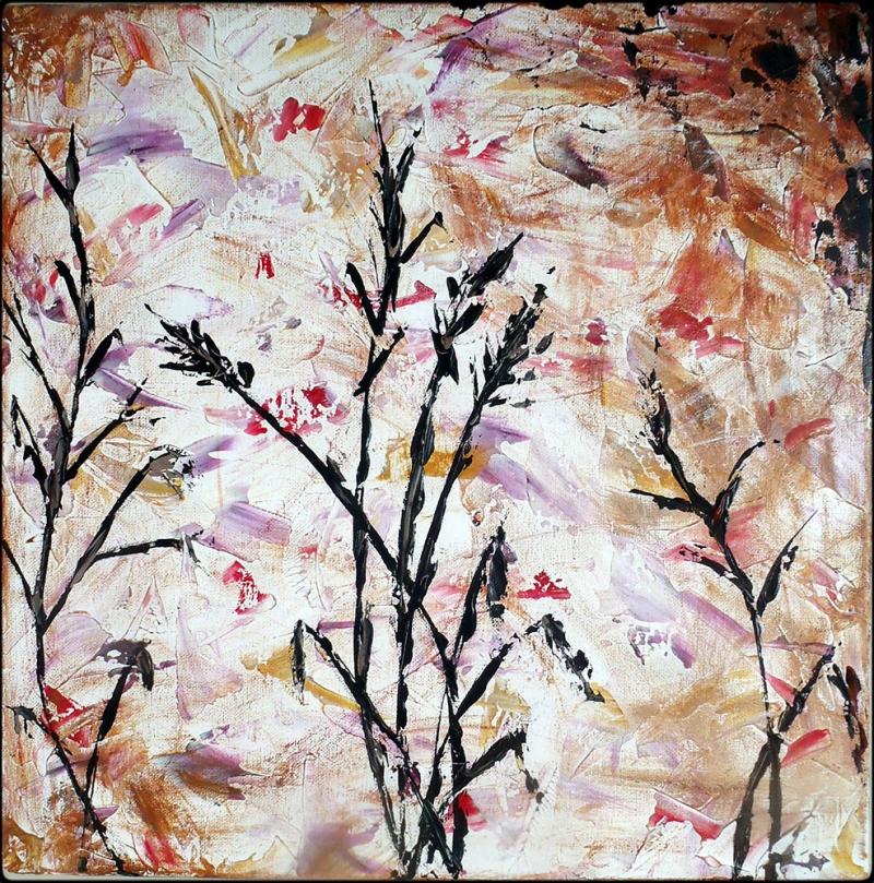 Sonbahar Çiçekleri 2 Dekoratif Kanvas Tablo