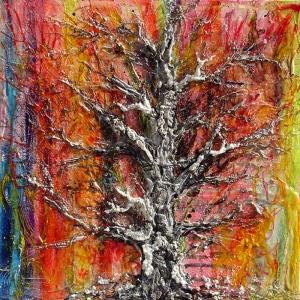 Sonbahar Yağlı Boya Sanat Kanvas Tablo