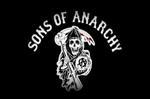 Sons Of Anarchy Logo Kanvas Tablo
