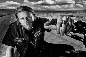 Sons Of Anarchy Poster-3 Kanvas Tablo