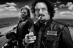 Sons Of Anarchy Poster-4 Kanvas Tablo
