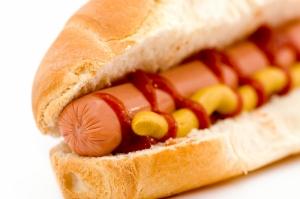 Sosisli Sandviç Lezzetler Kanvas Tablo