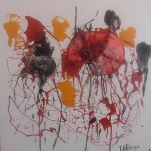 Soyut-18 Abstract Sanat Kanvas Tablo