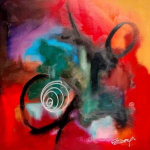 Soyut-3 Abstract Sanat Kanvas Tablo